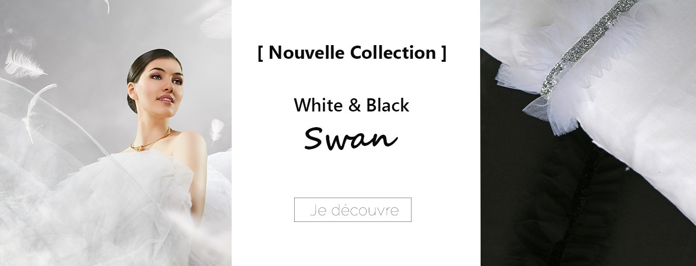 Nouvelle Collection White & Black swan