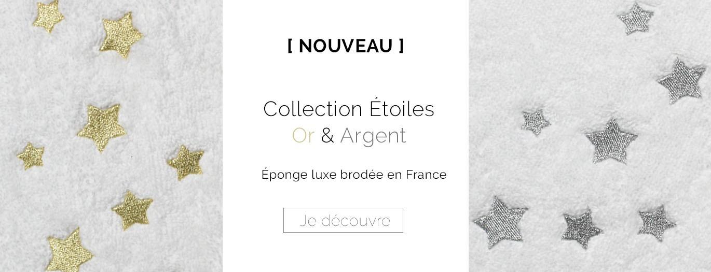 Nouvelle collection Etoiles Or et Argent